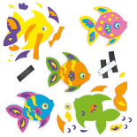 Funky Fish Magnet Kit